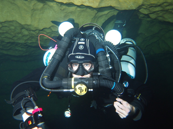 Eagles Nest Cave Diving April 2016